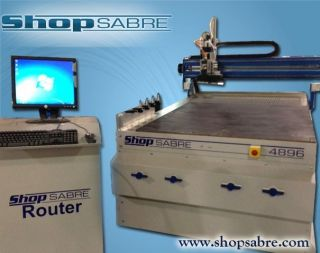 Shopsabre Cnc Router Machine Wood Plastics Sign Cabinet Shops photo