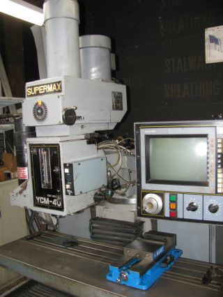 Supermax Ycm - 40 3 Axis Cnc Knee Mill photo