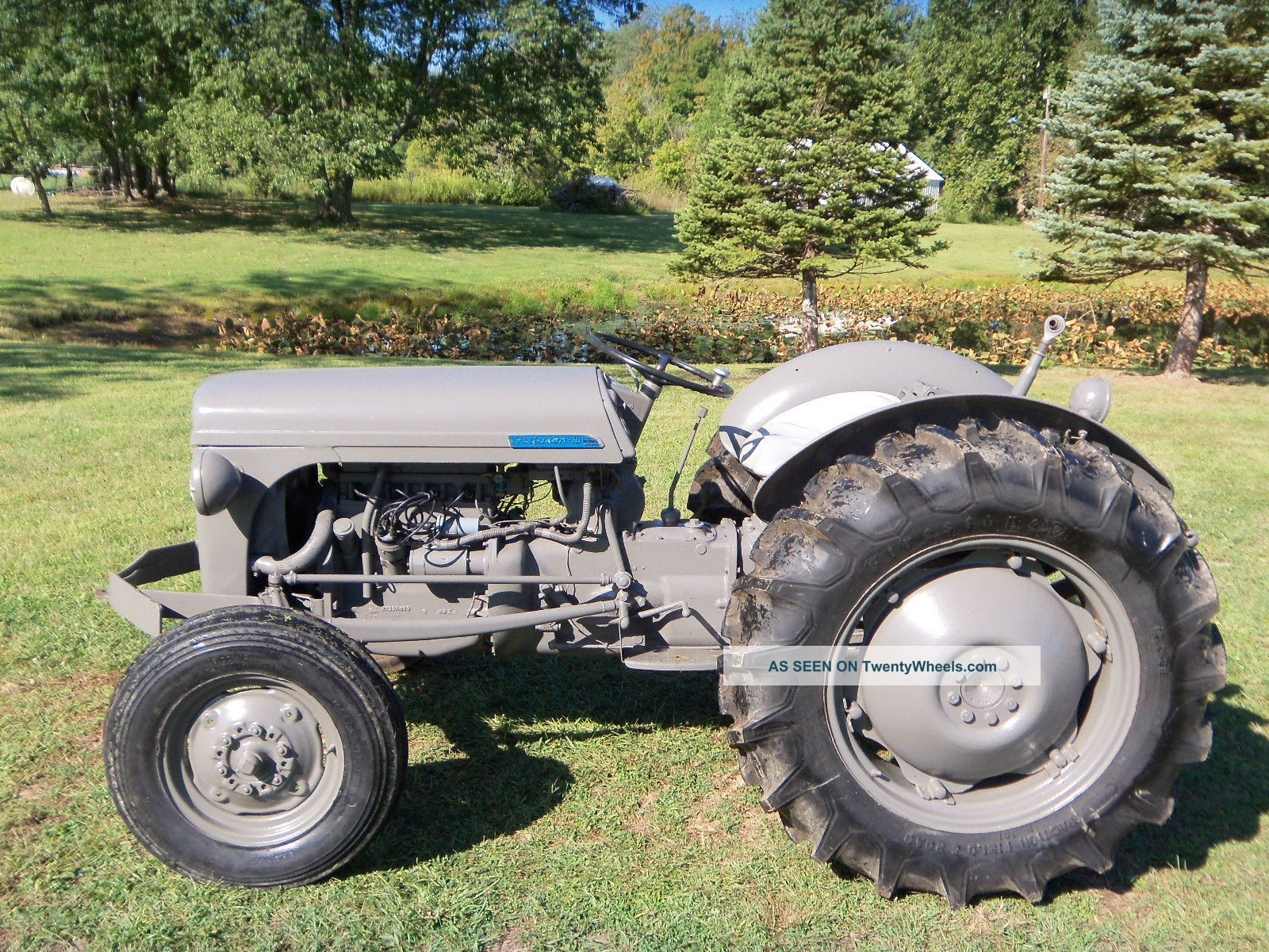 Grey Ferguson Tractor For Sale Farm Parts 1953 To30 Wiring Diagram To 30 Gas Restored
