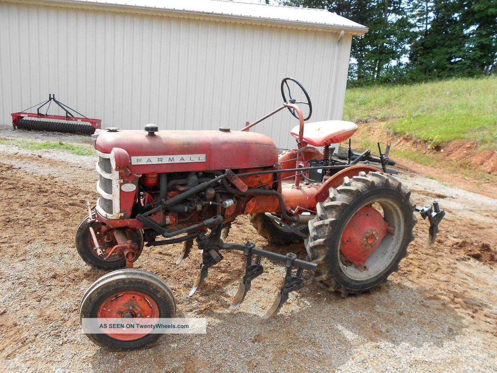 Antique Tractors Equipment : Antique farmall tractor