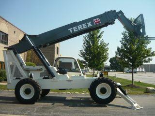 Terex Genie Th - 1056c Gth Telehandler Reach Forklift John Deere Turbo Telescopic photo