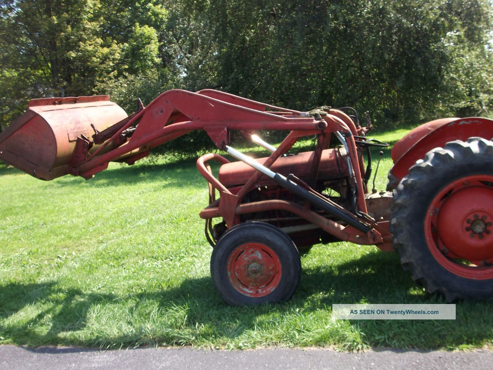 1954 Massey Ferguson Field And Garden Tractor W Front
