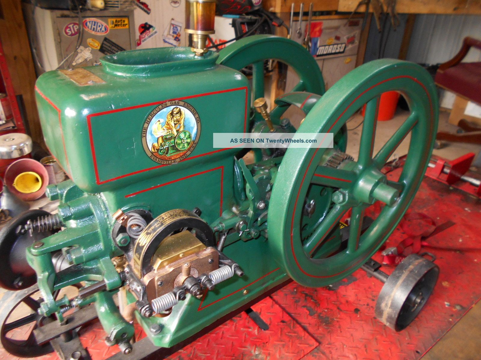 Vintage stationary engines for autos post for Stationary motors for sale