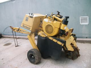 Vermeer 630 B Stump Grinder photo