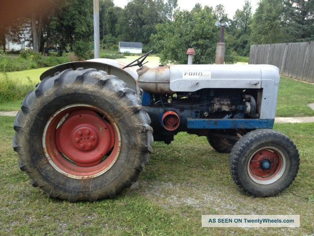 Ford Farm Tractors : Ford supermajor farm tractor