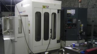 Kitamura Mycenter H400 Cnc Horizontal Machining Center 10k Rpm Full 4th 100 Tls photo