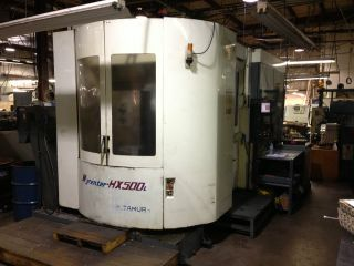 Kitamura Horizontal Machining Center Cnc Model Hx 500i Mfg: 2000 photo
