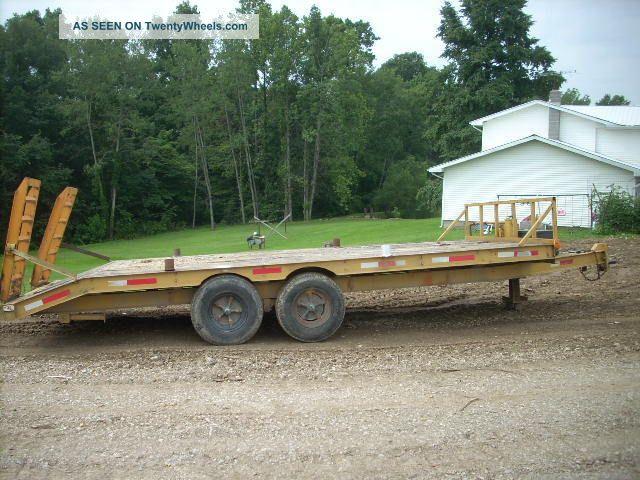 Heavy Equipment Trailer : Asm heavy equipment trailer