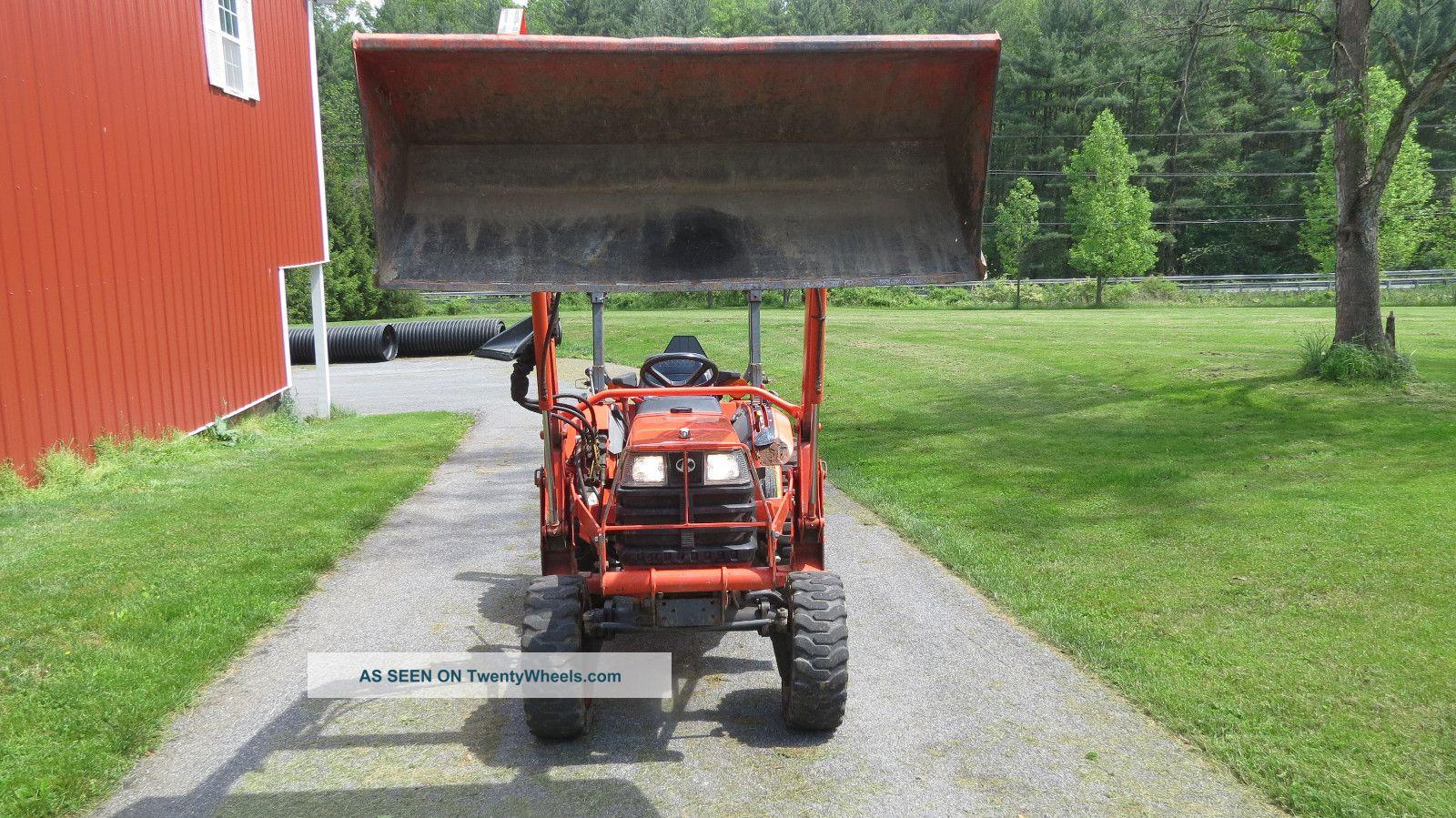 Kubota Tractor Tires R4 : Kubota b hydrostatic compact loader tractor hp