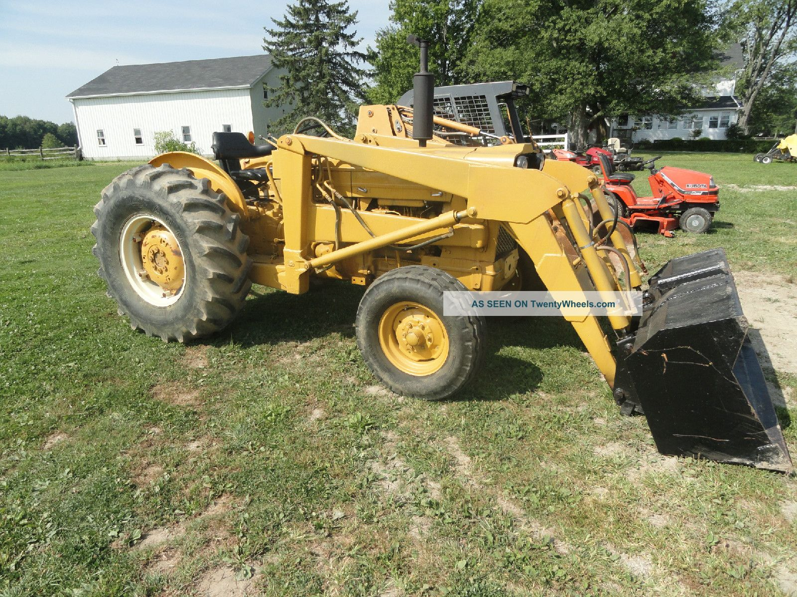 Ford Industrial 3500 With Front Loader