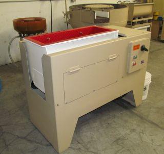 Finishing Products,  Burr King,  Roto - Finish,  Almco,  Type Vibratory Finishing Tub photo
