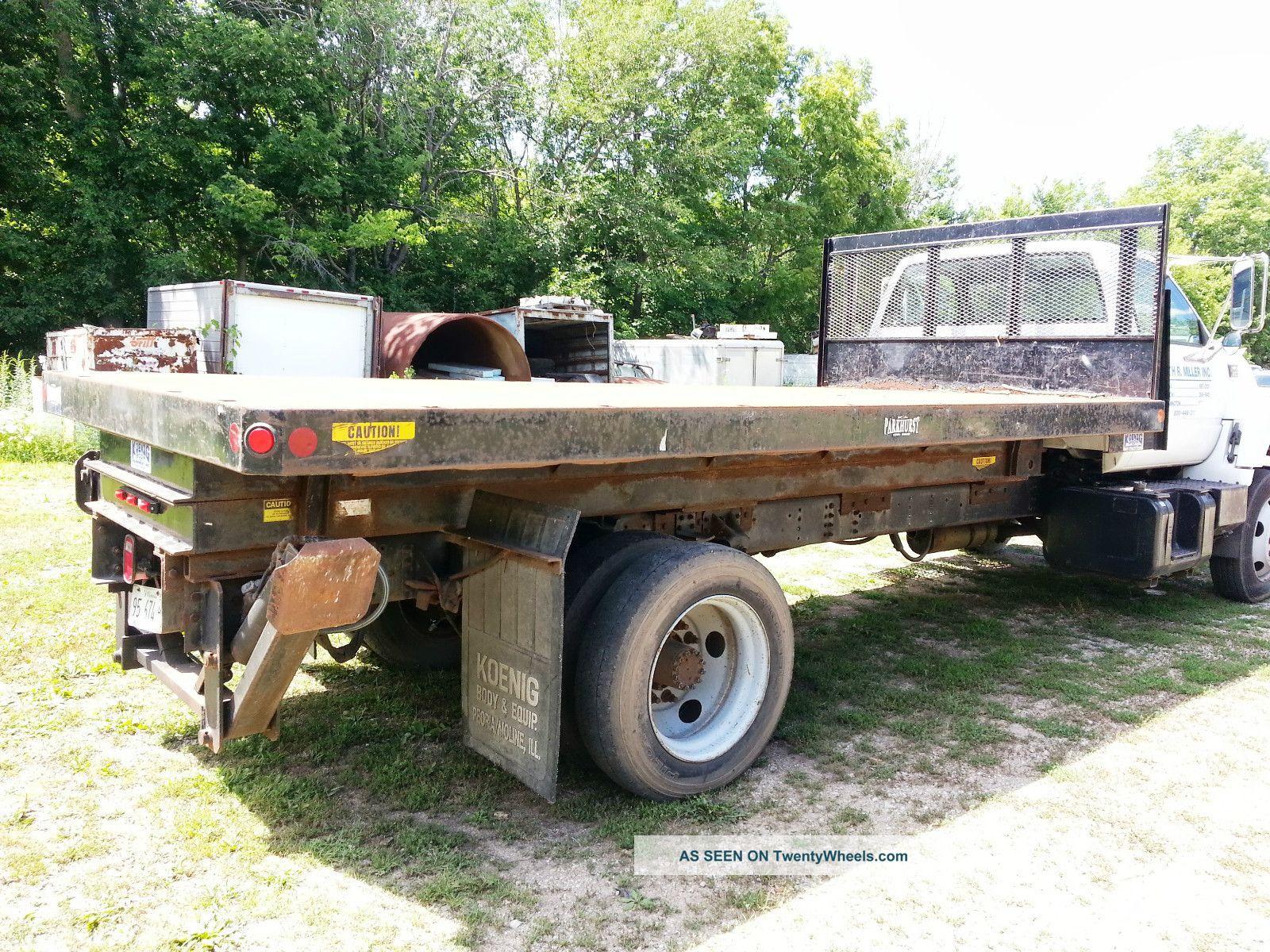 Scissor Truck Lift Tesco Platform Dump Roofing Parkhurst