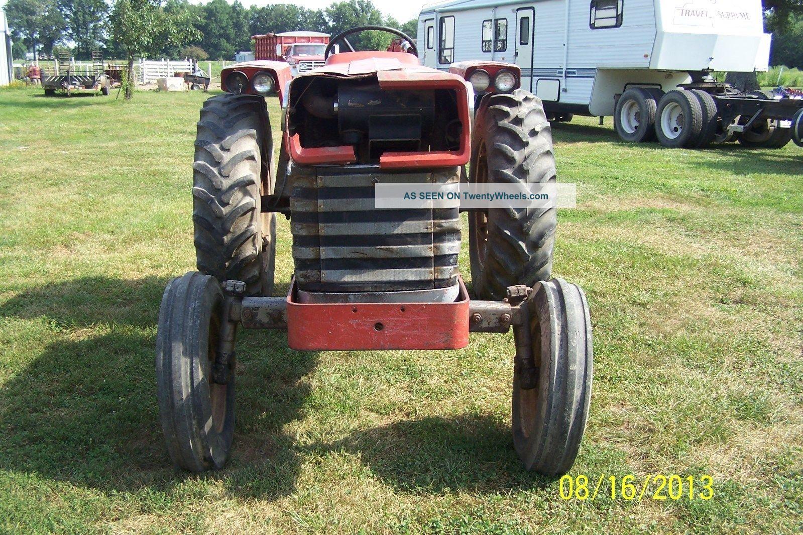 Massey Ferguson 150 : Massey ferguson gas tractor