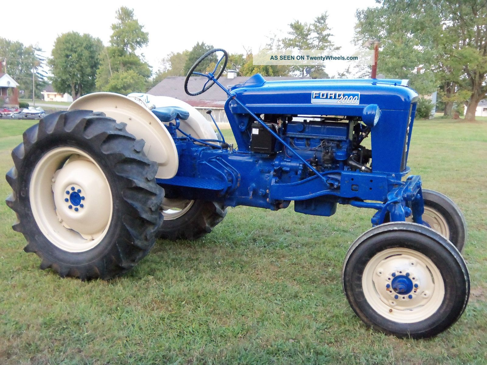 Ford 2000 Tractor Wheels : Ford offset tractor