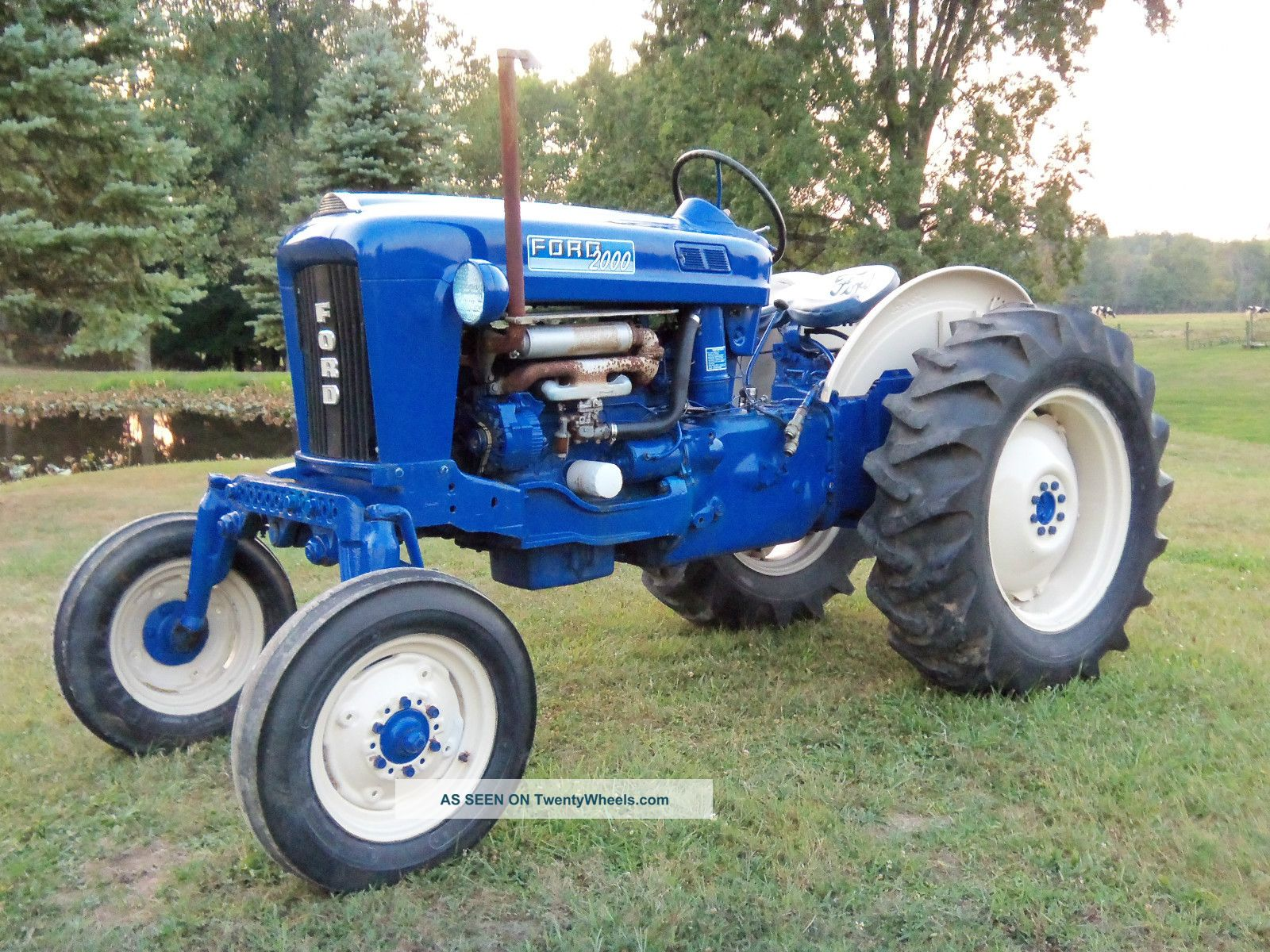 Ford Tractor Accessories : Ford offset tractor parts