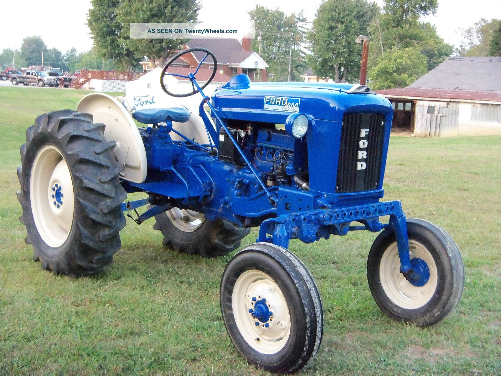 Ford Tractor Model 501 : Ford offset tractor for sale