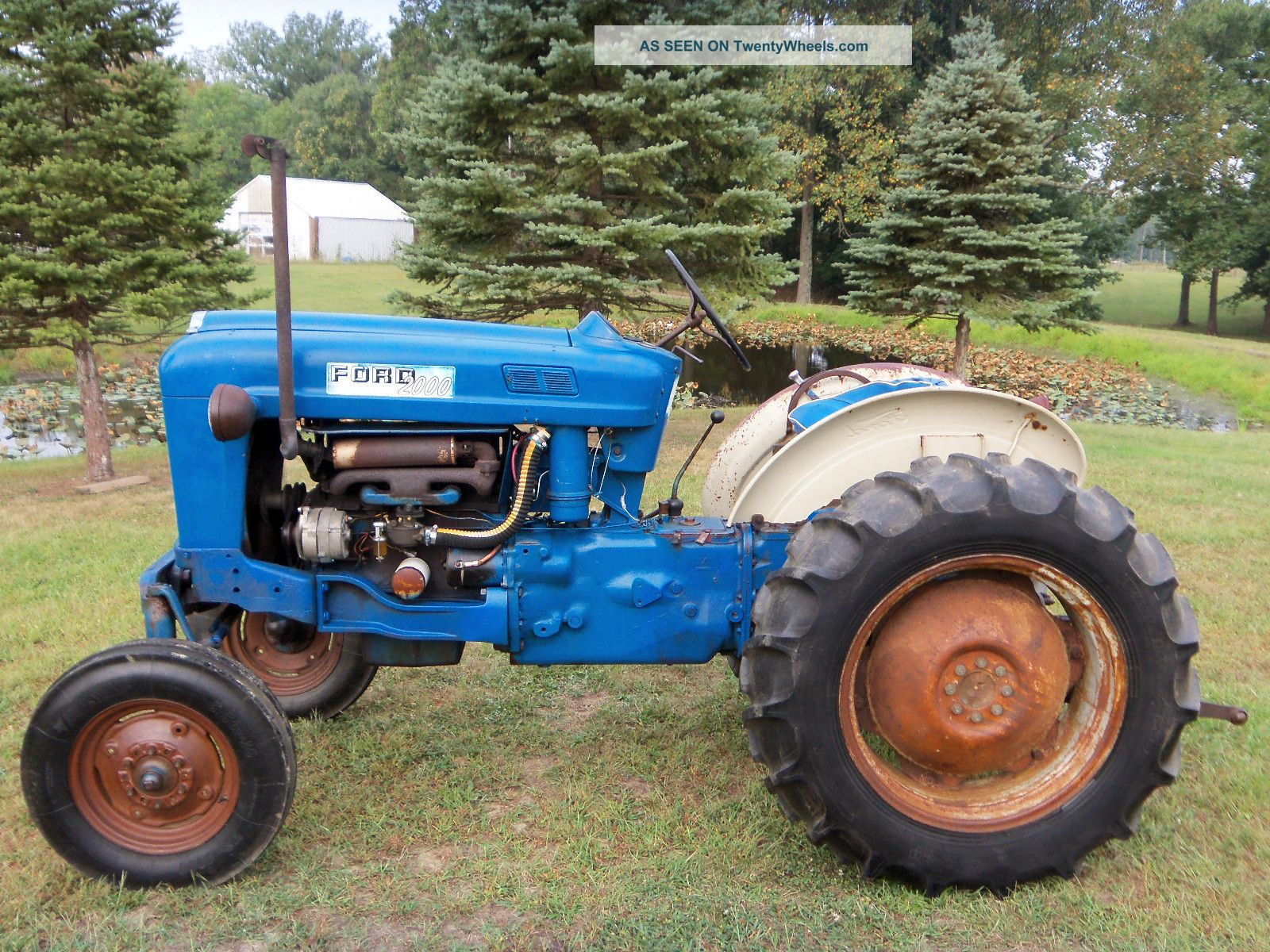 Ford 2000 Tractor Decals : Ford offset tractor parts