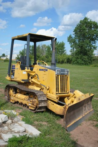 2005 Komatsu Dozer Model: D21a Crawler Bulldozer Very 800 Hours photo