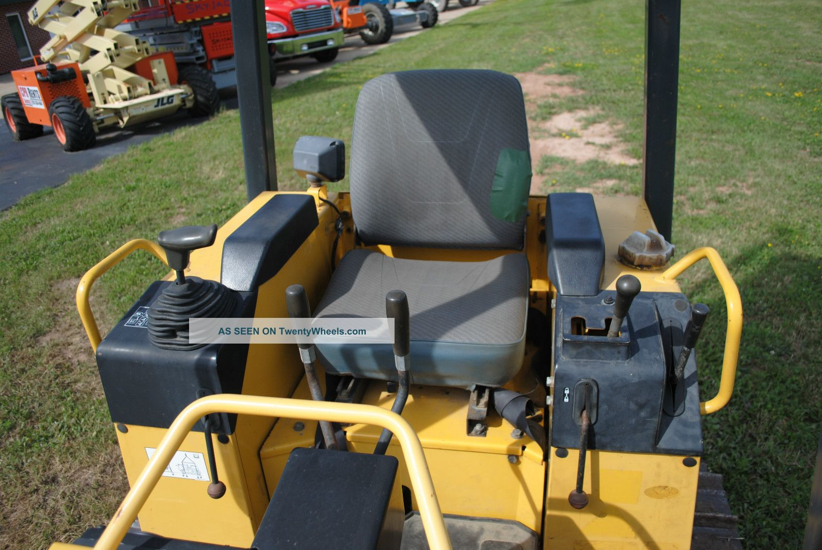2005 Komatsu Dozer Model: D21a Crawler Bulldozer Very 800 Hours