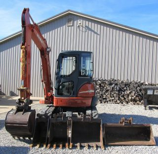 2005 Mx502 Ditchwitch Mini Excavator photo