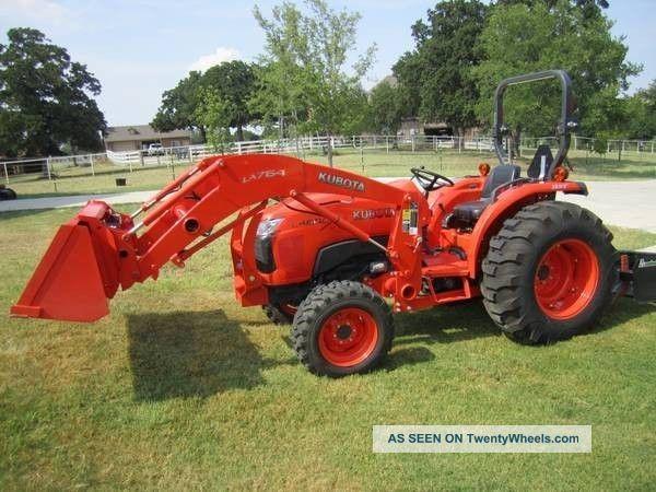 Kubota L4600 Hst Tractor W Frontend Loader Ie L4740 L3700