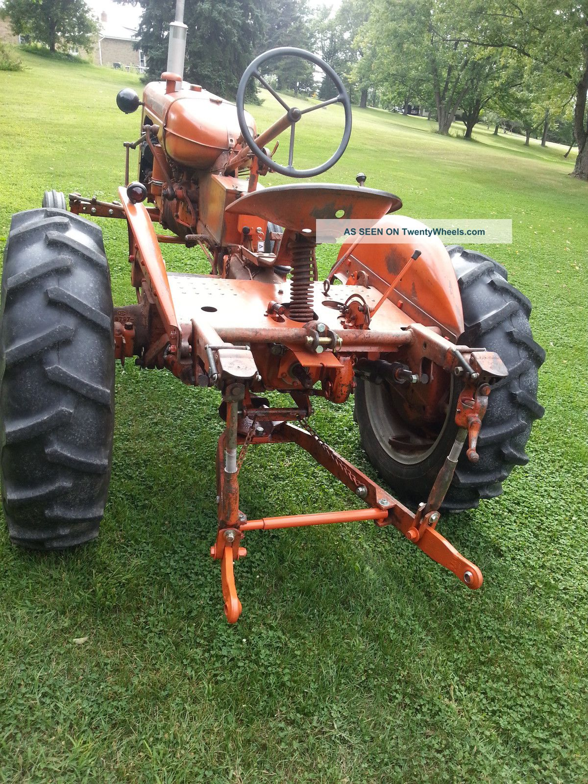1955 Allis Chalmers Ca  All Origional Paint  Ac 3  Hitch