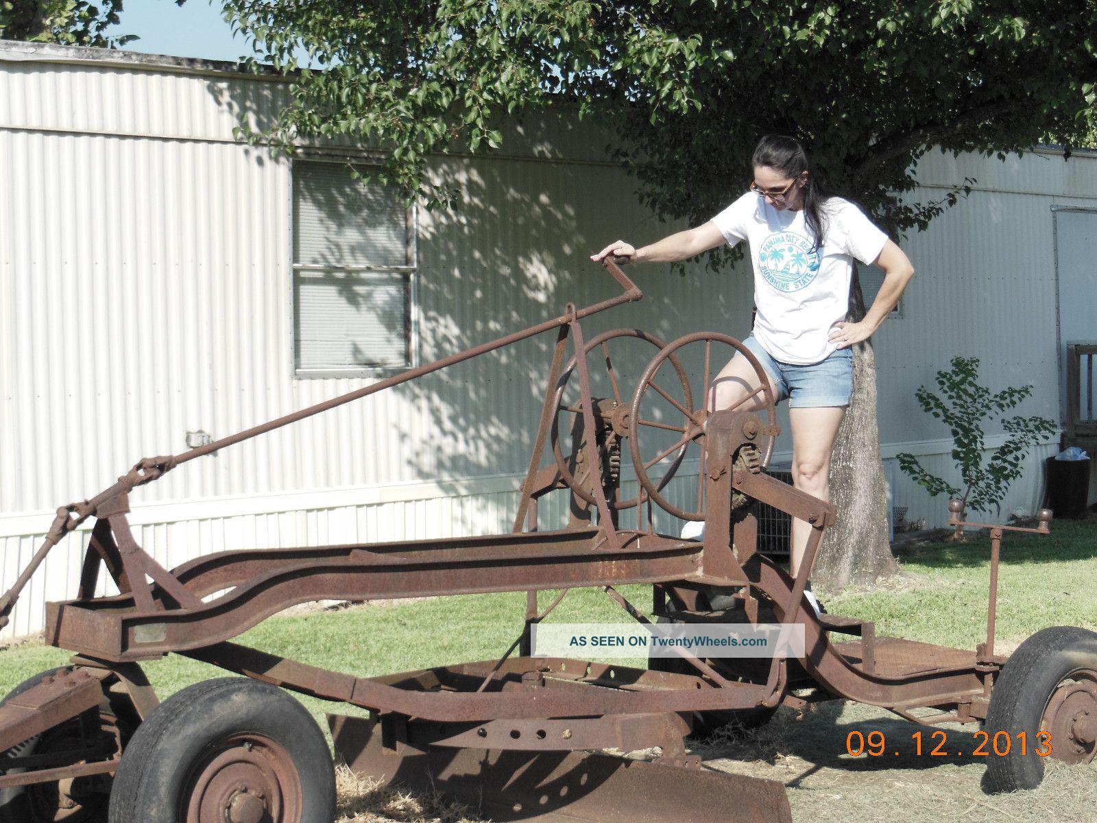 motolivellatrici grader Antique__vintage_road_grader__pull_type__by_horse_or_tractor___vintage_farm_grader_2_lgw
