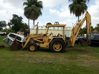 Ford 755a 755 Backhoe 2567 Orig Hours City County Owned & Maintained $10,  499 Obo photo