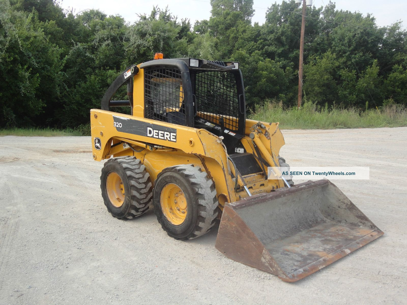 john deere 320 skid steer owners manual