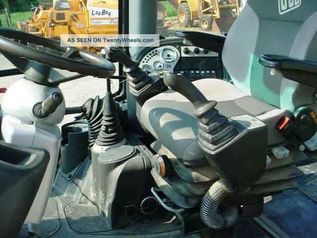 2008 Jcb 3cx Tractor Loader Backhoe  Cab  4x4  Extendahoe  Pilot Controls