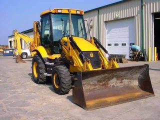 2008 Jcb 3cx Tractor Loader Backhoe,  Cab,  4x4,  Extendahoe,  Pilot Controls, photo