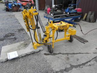 2007 E - Z Drill 210b Sra Horizontal Dowel Slab Rider Air Concrete Drill Hammer photo