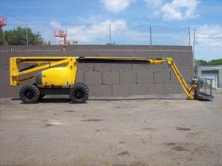 Haulotte Ha80jrt 4x4 Diesel Articulating Boom Lift photo