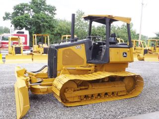 John Deere 650j Lgp Dozer photo