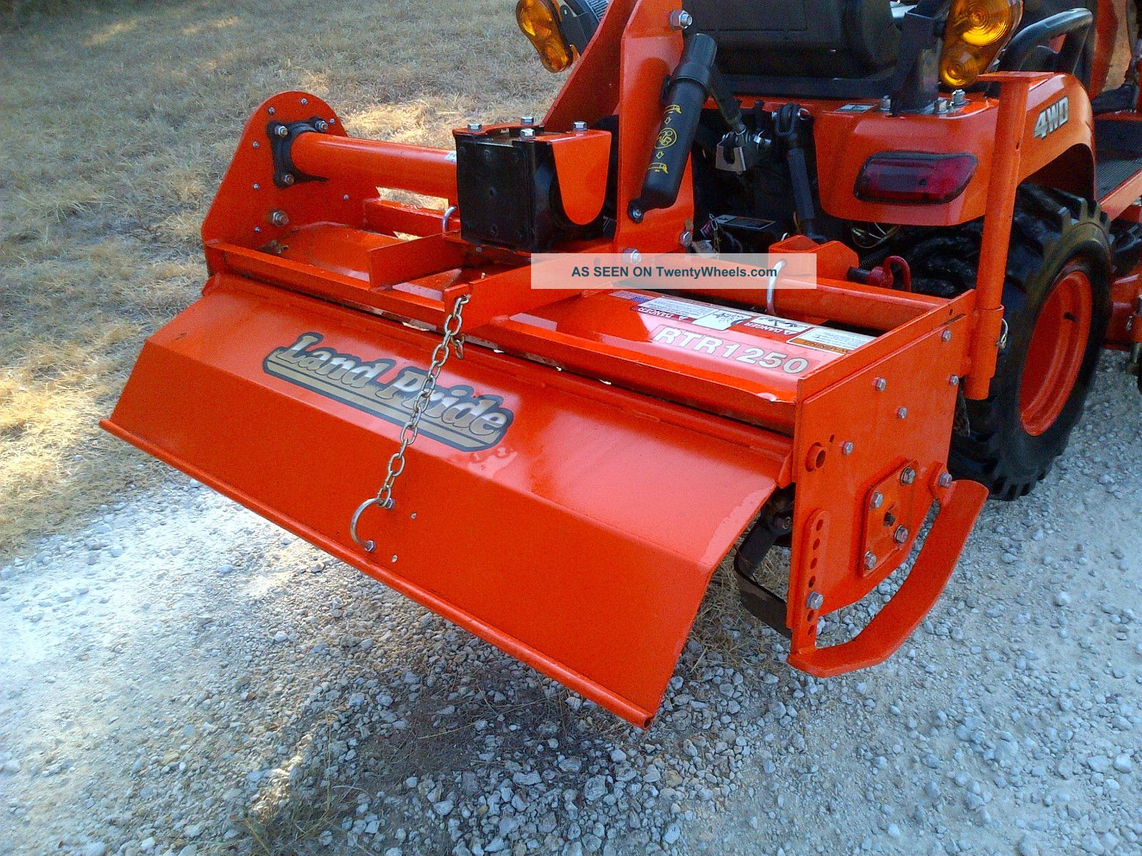 Kubota Tractor W Tiller Mower And Front Loader Lgw