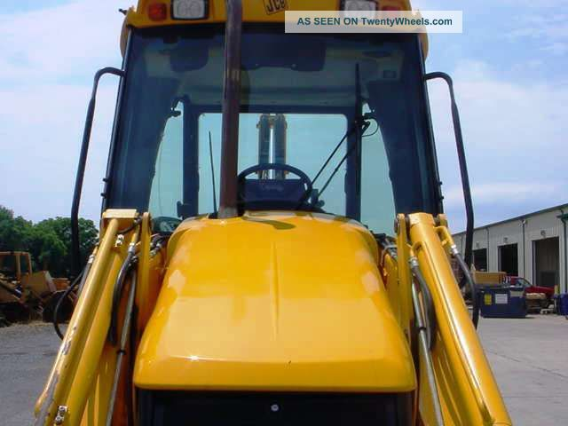 2006 Jcb 3cx Tractor Loader Backhoe  Cab  4x4  Extendahoe  Only 2312 Hrs