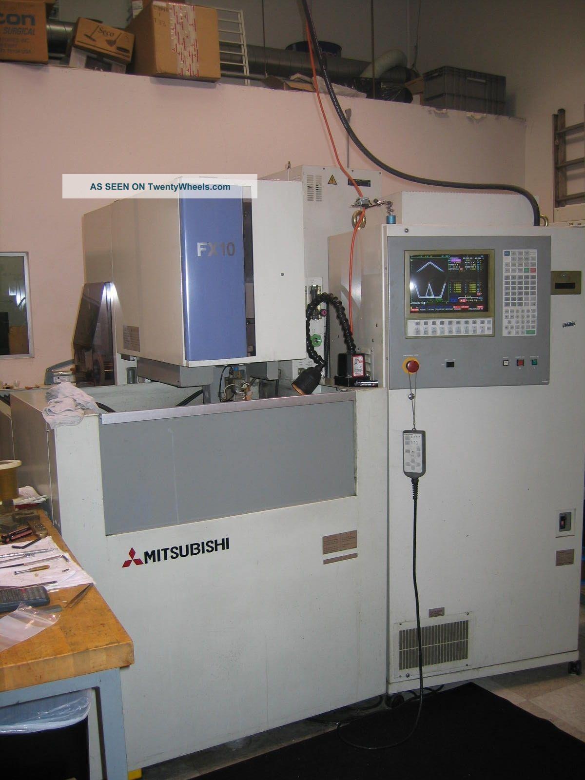 Edm Mitsubishi Fx 10 Wire Edm EDM Machines photo