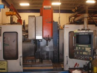 Mazak Mtv515 Heavy Duty Cnc Machining Center Ct50 40x16 Mazatrol M32b 30hp photo