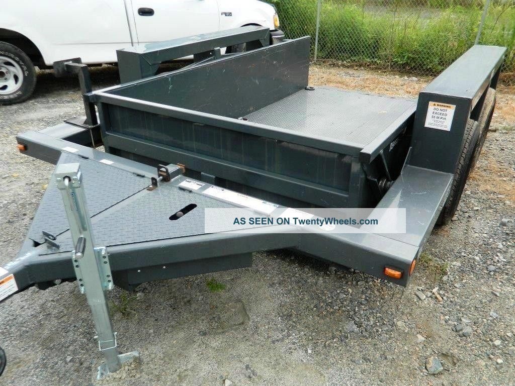 Hydraulic Drop Deck Trailers : Jlg triple l ut hydraulic drop deck scissor lift