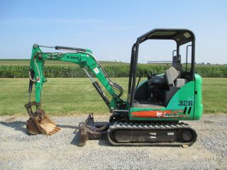 2006 Bobcat 328g Mini Excavator,  2004 Hours,  Quick Coupler,  24