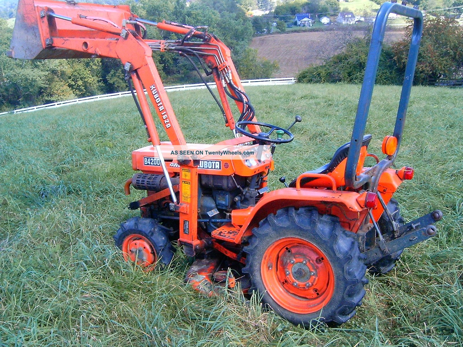 Kubota Belly Mower Decks : Kubota belly mower deck gear box free engine