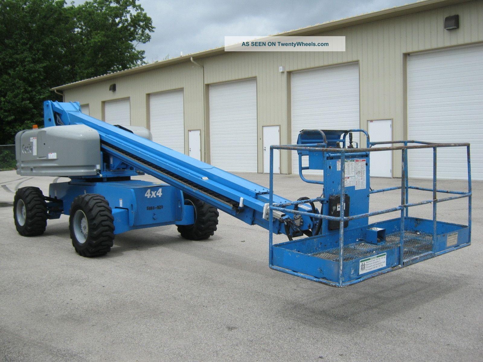 Genie Man Lifts : Genie s aerial manlift boom lift boomlift diesel man