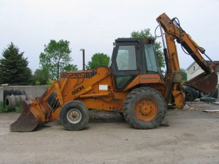 Case 680h Backhoe Loader photo