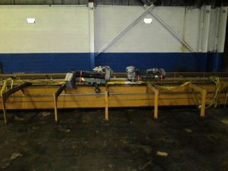 5850,  P & H, ,  P & H Single Girder Top Running Bridge Crane, photo