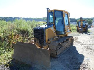 John Deere 450h Dozer Low Hrs Cab photo