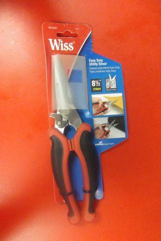 Wiss Easy Snip Utility Shear,  8.  5