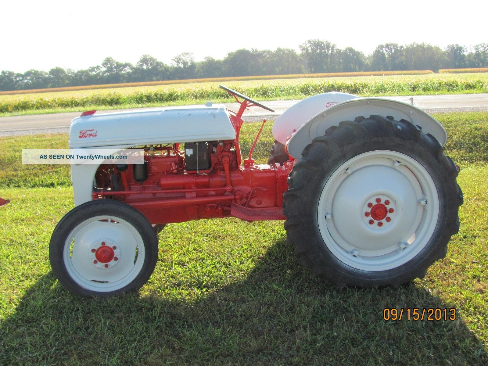 1952 ford 8n tractor. Cars Review. Best American Auto & Cars Review