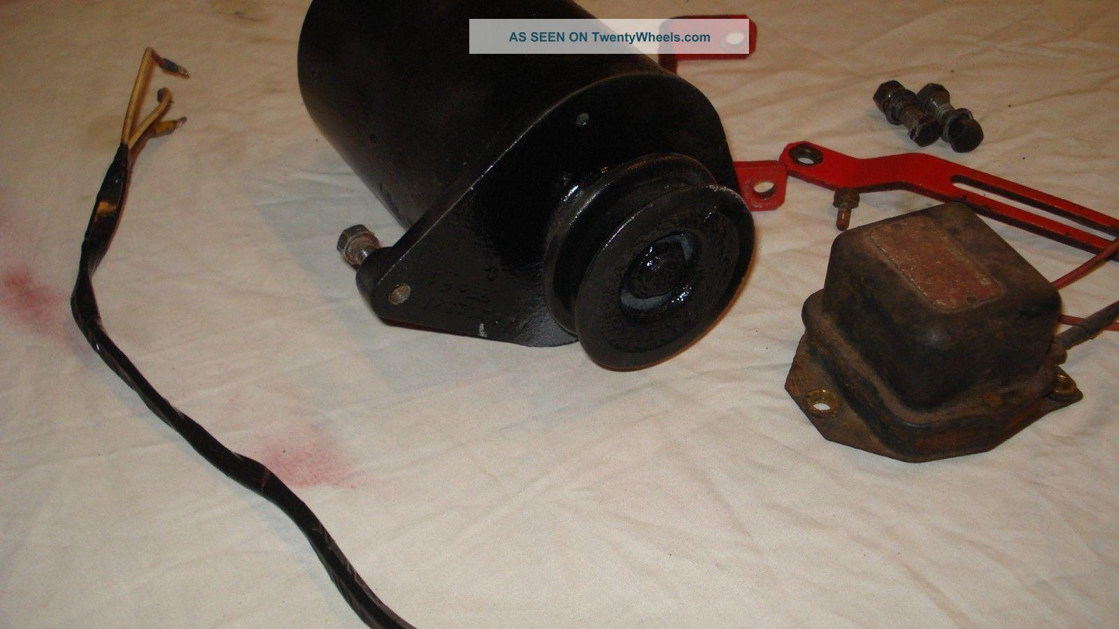 Chipper Voltage Regulator : Ford farm tractor v generator voltage regulator