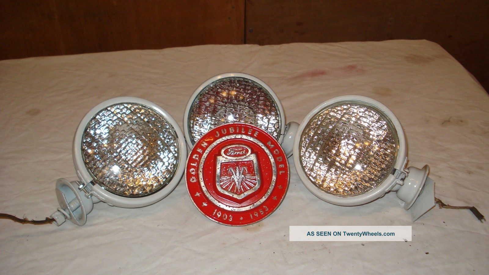 Tractor Front Lights : Ford jubilee farm tractor head lights rear light and