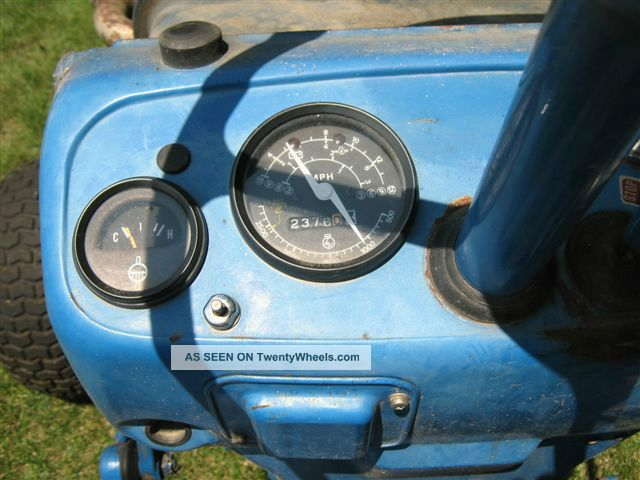 Ford Tractor 1500 Series : Ford diesel tractor